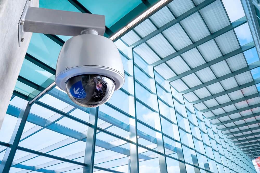 מצלמת אבטחה כיפה IP